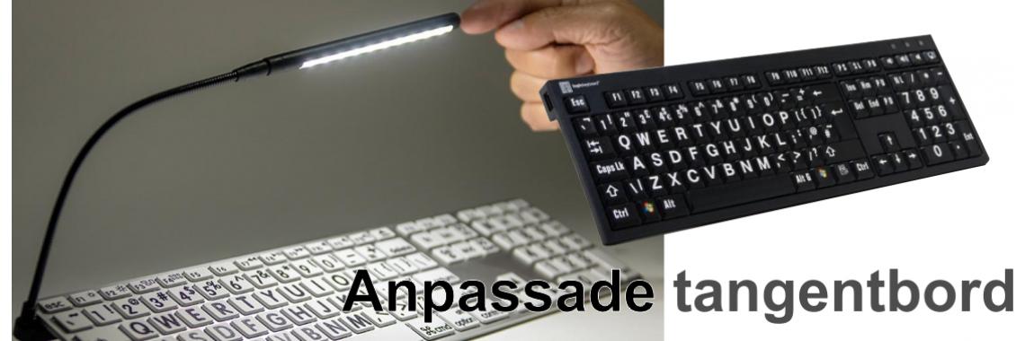 Anpassade tangentbord